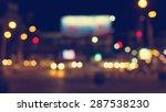 city night light blur and bokeh ... | Shutterstock . vector #287538230