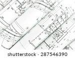 rolls of architecture... | Shutterstock . vector #287546390