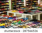 woman shoes diversity at...   Shutterstock . vector #287566526