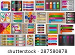 colorful modern text box... | Shutterstock .eps vector #287580878