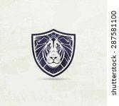 Lion Mascot Emblem Symbol....