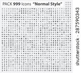 icon set  pack 999 icons ...