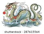 Vector Illustration Of Eastern...