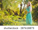 artistic portrait of young... | Shutterstock . vector #287618873