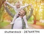 special bonding for my little... | Shutterstock . vector #287649794