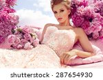 Stock photo princess beautiful young woman 287654930