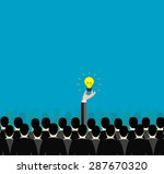 conceptual image of the... | Shutterstock .eps vector #287670320