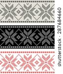 Geometric Nordic Textile...