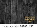 vector wood texture. background ... | Shutterstock .eps vector #287691653