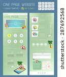 summer time one page website...