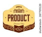 label design | Shutterstock .eps vector #287705120