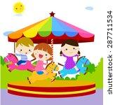 Children Having Fun At The...