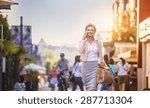 attractive young businness...   Shutterstock . vector #287713304