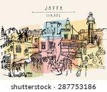 Artistic Illustration Of Jaffa  ...