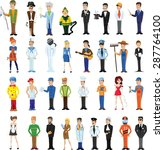 cartoon vector characters of... | Shutterstock .eps vector #287764100