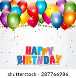 celebration background with... | Shutterstock .eps vector #287766986