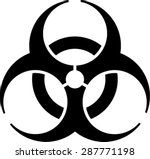 biohazard icon  symbol