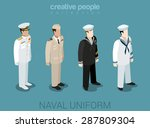 naval military people in... | Shutterstock .eps vector #287809304
