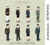 military army officer commander ... | Shutterstock .eps vector #287809343
