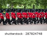 Queen's Foot Guards Marching I...