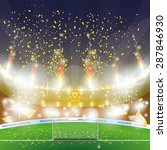 beautiful view of a celebration ... | Shutterstock .eps vector #287846930