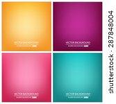 abstract creative concept... | Shutterstock .eps vector #287848004