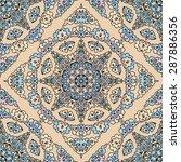 seamless pattern ethnic style.... | Shutterstock .eps vector #287886356