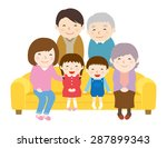 family reunion | Shutterstock .eps vector #287899343