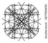 vector illustration circle... | Shutterstock .eps vector #287900690