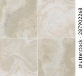 four different marble texture.  | Shutterstock . vector #287902268