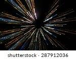 long exposure  abstract speed... | Shutterstock . vector #287912036
