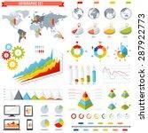 a comprehensive template set... | Shutterstock .eps vector #287922773