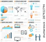 a comprehensive template set... | Shutterstock .eps vector #287922794