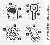 business infographic | Shutterstock .eps vector #287923538