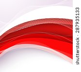 abstract red background with... | Shutterstock .eps vector #287935133
