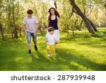 happy family having fun in the... | Shutterstock . vector #287939948