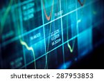 finance data concept | Shutterstock . vector #287953853