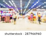 blurred image of shopping mall... | Shutterstock . vector #287966960