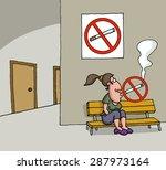 Conceptual Cartoon About No...
