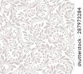 floral pattern. wallpaper... | Shutterstock . vector #287973284