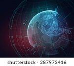 Earth Futuristic Technology...