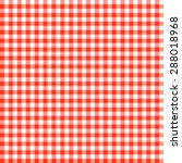 checkered tablecloths patterns... | Shutterstock .eps vector #288018968