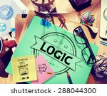 Small photo of Logic Logical Reasonable Critical Thinking Concept