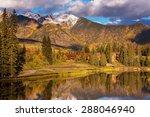 Stock photo autumn lake 288046940