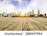 the bund  shanghai  china  air... | Shutterstock . vector #288047894