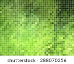 abstract square pixel mosaic... | Shutterstock .eps vector #288070256