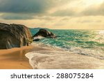 morning on the island of koh...   Shutterstock . vector #288075284