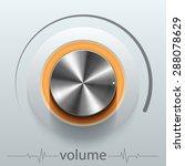 button volume | Shutterstock .eps vector #288078629