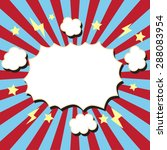 comic boom bubble | Shutterstock .eps vector #288083954