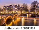 Amsterdam Canals West Side At...
